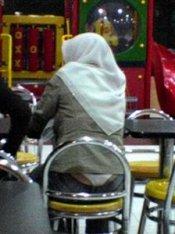 jilbab G string